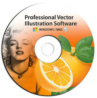 NEW 2019 Professional Illustrator Vector Graphics Image Drawing Software Program