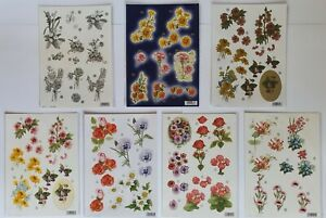 A4 Die Cut Floral Decoupage For Cardmaking: CHOOSE From 7 Options