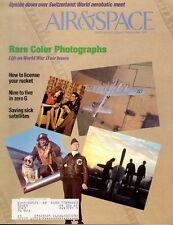AIR & SPACE AUG 91 WW2 USAAF COLOR PHOTOS / GAGARIN VOSTOK 1 / FLIGHT 19 TBF WW2