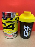 90 SERVINGS - Cellucor C4 Pre-Workout Kit with Shaker Cup Wild Fruit Blast Punch