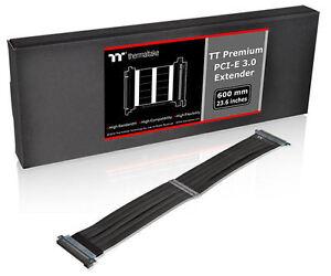 Thermaltake Premium 600mm PCI-E 3.0 Extender Cable – AC-050-CN1OTN-C1