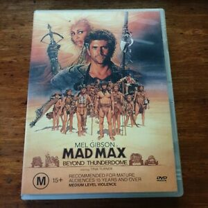 Mad Max Beyond the Thunderdome DVD R4 VERY GOOD - FREE POST