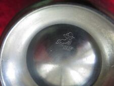 VINTAGE CHASE USA STAINLESS STEEL THERMOS / COCKTAIL SHAKER / WATER DECANTER CUP