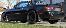 Rokblokz Rally Mud Flaps fit 1990-1997 Mazda Miata