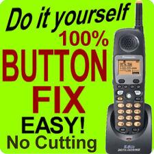 100% Panasonic Cordless Phone Keypad Button Fix KX-TGA450b KX-TG4500B KXTG450B