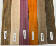6 PACK COMBO, 6 Species,  Cutting Boards/Thin Dimensional Lumber 3/4