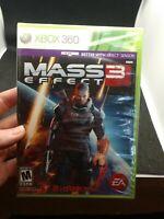 Mass Effect 3 Microsoft Xbox 360 *Factory Sealed! *NEW