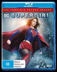 Supergirl Season 2 Blu Ray (4-Disc Set) Series Two - AUSTRALIAN REGION B