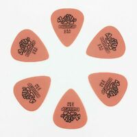 6 Pcs/Set Guitar Picks Dunlop Tortex 0.50 mm