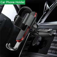 Black Gravity Car Mount Phone Holder For iPhone Samsung Cell Phone Universal