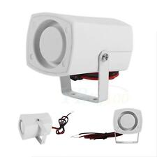 DC 12V Electronic Mini Wired Alarm Siren Horn Home Vehicle Security System GW