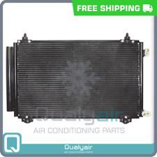 New A/C Condenser fits Toyota Corolla, Matrix 2005-08 - OE# 8845002261 QA
