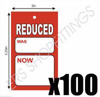 100x PRICING SALE CARDS SALE TICKETS MEDIUM