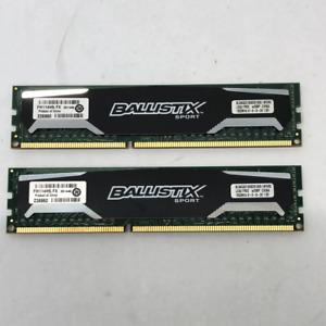 Ballistix Sport 8gb x2 DDR3 RAM set