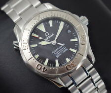OMEGA  SEAMASTER AUTOMATIC 2236.50 18K WHITE GOLD BOX/PAPERS/ 1 YRGTEE  MIDSIZED