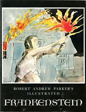 ROBERT  A  PARKER'S  *  FRANKENSTEIN  *  ILLUSTRATED ~ PAPERBACK by MARY SHELLEY