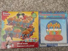 Disney Junior Mickey Mouse Clubhouse Snack Stand & Centerpiece decoration New