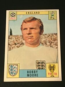 Unused Panini World Cup Mexico 70 (1970) Card - BOBBY MOORE (England)