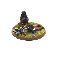 IMPERIAL GUARD Vostroyan heavy weapon Bolter Team #4 PRO PAINTED METAL 40K