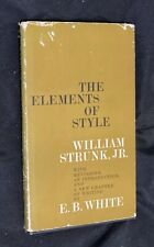 New listing Vintage 1959 The Elements of Style William Strunk, Jr. Tenth Printing 1960