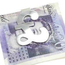 Silver £ UK - Pound MONEY CLIP