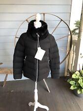 Montecore 100% Cashmere Loro Piana Down Jacket Size 42 Medium $1,595 Real Fur