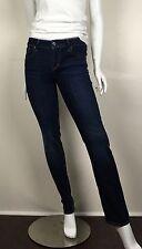 Levi's Women's Jeans Demi Curve Straight Leg Stretch Dark Stonewash Size 0