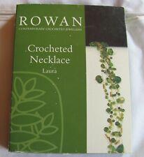 50% OFF! ROWAN Contemporary Crocheted Jewellery CROCHET NECKLACE KIT - Laura