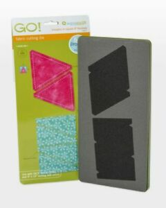 """Accuquilt 55027 GO! Triangles in Square 3"""" Quilting Sewing Fabric Cutting Die"""