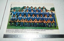 CLIPPING POSTER FOOTBALL 1987-1988 ISTRES SPORTS