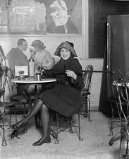 Woman pours alcohol from a cane during Prohibition Coca-Cola Ad New 8x10 Photo
