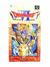 Dragon Quest VI 6 - Nintendo Super Famicom SNES - En Boite - NTSC-J JAP