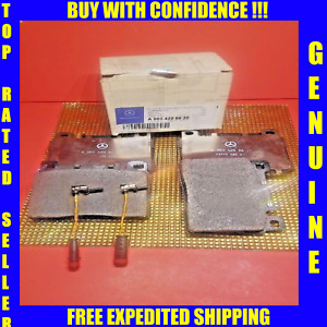 Maybach Front Brake Pads Set With Sensor Kit For 03-12 57 62 57S 62S GENUINE
