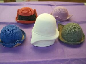 BRAND NEW !  CL 19 RESIN DOLL HAT FORM MOLD BLEUETTE 6 1/2-7 1/2 HEAD FREE SHIP