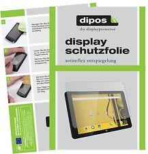 2x Archos Kodak Tablet 10,1 Zoll Schutzfolie matt Displayschutzfolie Folie