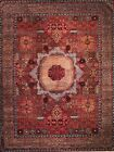 Hand-knotted Rug (Carpet) 9'1X11'8, Mamluk mint condition