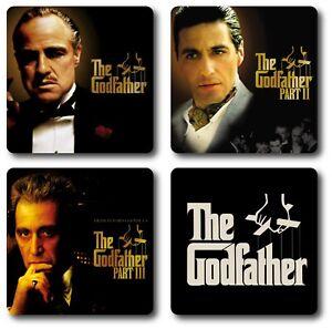 The Godfather 4 Piece Coaster Set