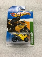 HOT WHEELS 2012 #52/247 TREASURE HUNTS 2/15  DUCATI 1098 NEW ON CARD B39