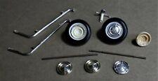 1960 Pontiac Bonneville Hardtop Misc. Kit Parts; Vintage AMT Kit #6660.