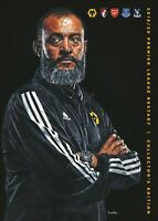 WOLVES  v  BOURNEMOUTH, ARSENAL, EVERTON, CRYSTAL PALACE OFFICIAL PROGRAMME