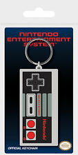 Nintendo - NES Controller - Gummi Schlüsselanhänger Keyring - 4,5x6 cm