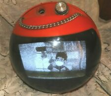Retro TV JVC Orange Working TV Made In Japan Model Space Age Television
