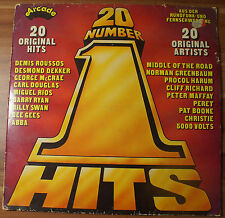 "12"" LP Vinyl ""Arcade 20 Number 1 Hits"", 1976 TOP!"