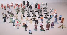 Lot of 71 Star Wars Micro Machines Action Fleet Figures - Wicket - X-Wing - Solo