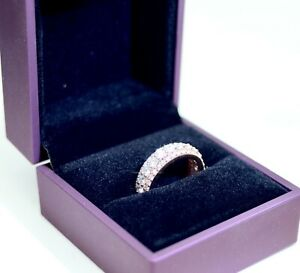 18K Rose Gold Ring with Diamonds 5ct