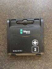 Wera 057760 Pozi Extra Hard Screwdriver Bits PZ2 x 25 (Box of 20)