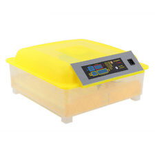 56 Eggs Incubator Chickens Birds Temperature Control Hatcher Hatching Machine