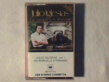 JULIO IGLESIAS Da manuela a pensami vol. 1 mc cassette k7 COME NUOVA LIKE NEW!!!