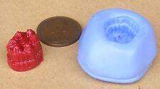 Gelatina riutilizzabile OVALE STAMPO IN SILICONE Sugarcraft gioielli Card Topper per alimenti