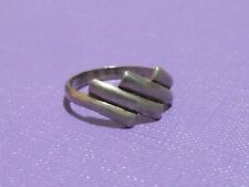 Antique silver sterling ring handmade Ethnic 8 original jewelry Israel 925